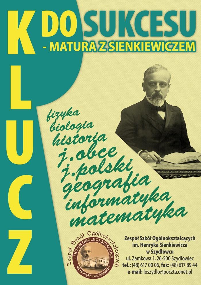 Matura 2012 Liceum Im Henryka Sienkiewicza W Szydłowcu